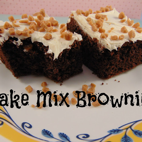 Cake Mix Brownies