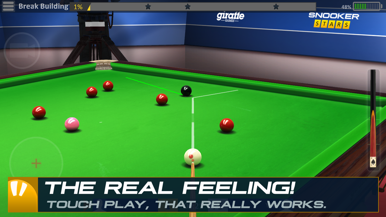 Snooker Stars Screenshot 1