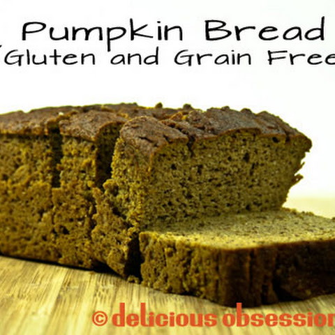 Pumpkin Bread Recipe (Gluten and Grain Free)