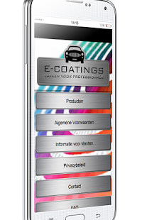 E-Coatings - screenshot