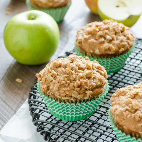Apple Oatmeal Crisp Muffins
