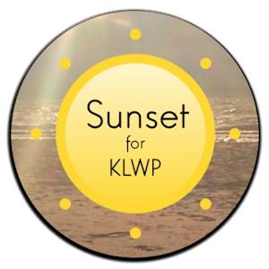 Sunset for KLWP