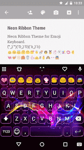 Magic Night Emoji Keyboard - screenshot