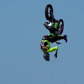 by Pavel Vrba - Sports & Fitness Motorsports ( motorbike, stuntman, show )