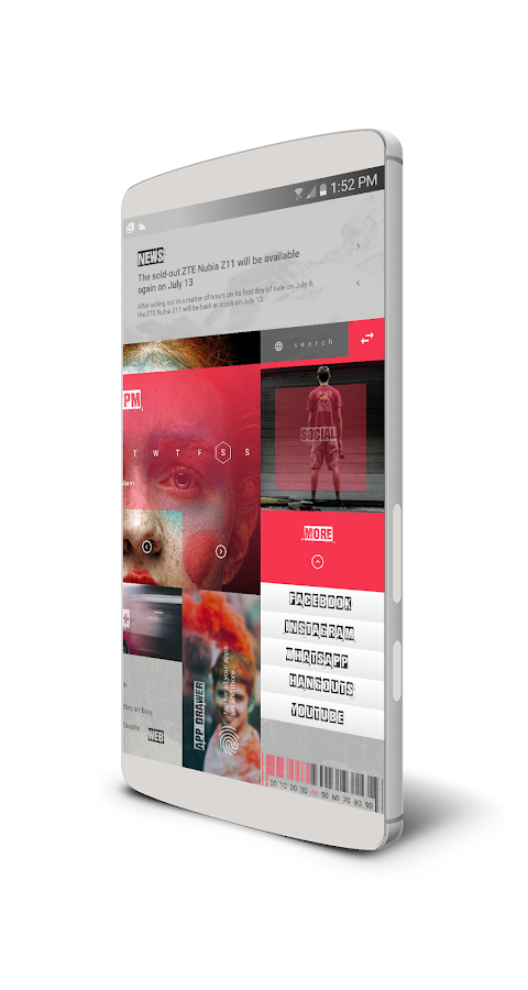MaGaziNe UI for KLWP Screenshot 7