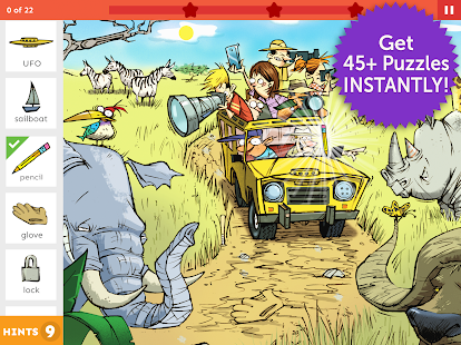 Hidden Pictures Puzzles APK for Bluestacks