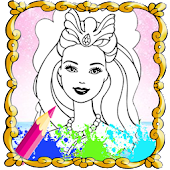 Game The Queen Coloring Book HD APK for Windows Phone