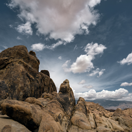 Mr. Flintstone  by Michael Keel - Landscapes Travel ( alabama hills, boulders, inyo county, big rocks, desert landscape )