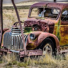 by Brent Clark - Transportation Automobiles ( truck, automobile, rusted, transportation, rust, abandoned )
