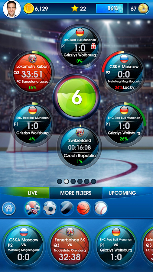 OddsBlast -Sports Betting Game Screenshot 1