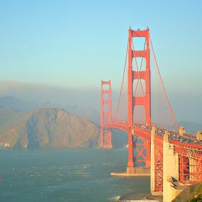 Golden Gate bridge by Rima Biswas - Buildings & Architecture Bridges & Suspended Structures