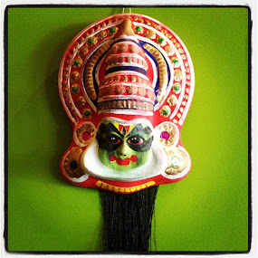 Kathakali Art by Apoorva Bakshi - Artistic Objects Other Objects