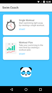 Swim Coach - Smart Swimming Workouts Fitness app screenshot for Android