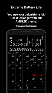 Natural Scientific Calculator- screenshot thumbnail