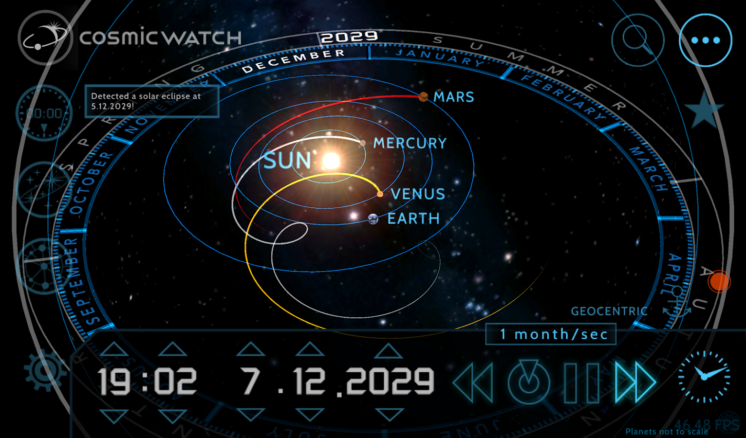 Cosmic-Watch Screenshot 11