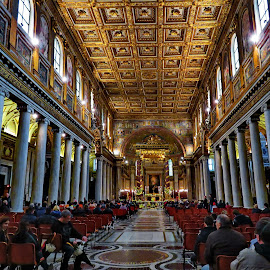 Basilica di Santa Maria Maggiore - Rome,Italy by Andjela Miljan - Buildings & Architecture Places of Worship (  )