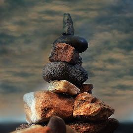 Devil's Rock III by Abbey Gatto - Nature Up Close Rock & Stone