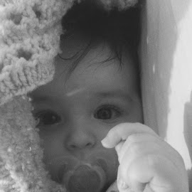 Peekaboo  by Kate Webb - Babies & Children Babies