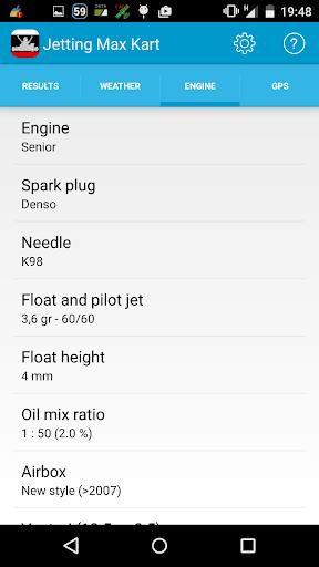 Jetting Max Kart for Rotax - screenshot