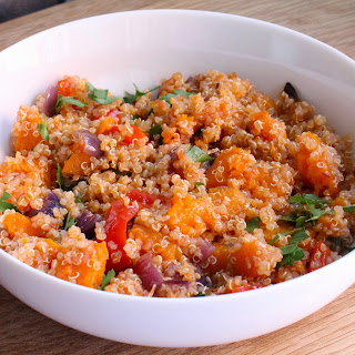 Quinoa with Roasted Butternut - Healthy Summer Eating