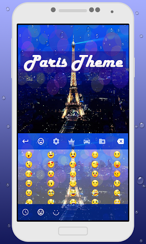 android Paris Keyboard Theme Screenshot 3