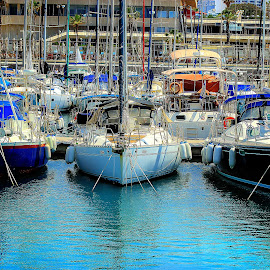 telaviv by Abu  Janjalani Abdullah - Transportation Boats ( boats, transportation )