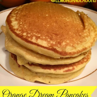 Orange Dream Pancakes