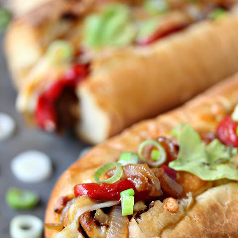 Tex-Mex Meatball Subs