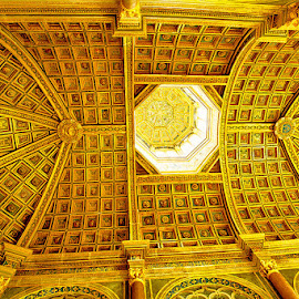 Ceiling by Radu Eftimie - Buildings & Architecture Architectural Detail ( fontainebleau castle, ceiling )