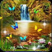 Free Waterfall Jungle LWP APK for Windows 8