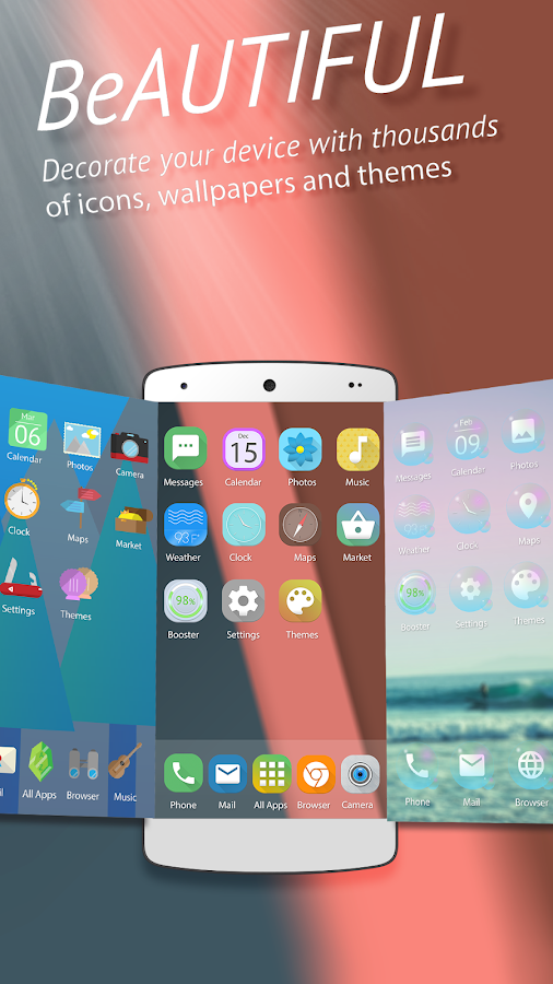 Be Launcher - Themes,Wallpaper Screenshot 2