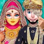 ☪ Hijab Girl Beauty Salon and Wedding Rituals ☪ Icon