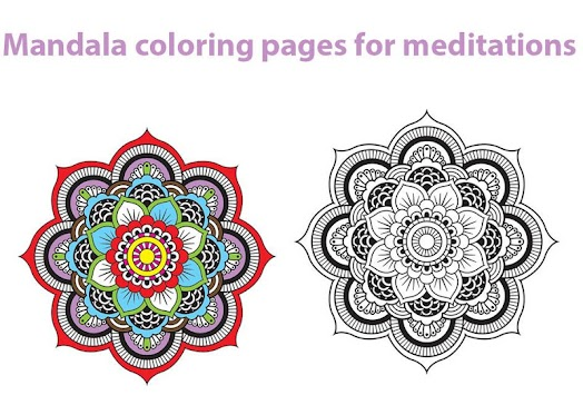 Mandala Coloring Pages 2 APK 10