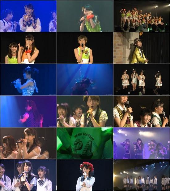 "(LIVE)(公演) SKE48 チームE ""手をつなぎながら"" 松井玲奈の生誕祭 150724"