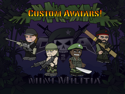 Doodle Army 2 : Mini Militia screenshot 15