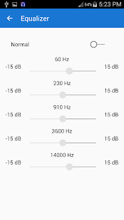 Audio player - mp3 player - screenshot