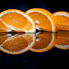 Oranges by Adrian Minda - Food & Drink Fruits & Vegetables ( orange, fruits, macro photography, close, food )