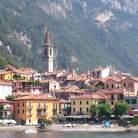 Varenna Italy by Ken Ralidis - City,  Street & Park  Historic Districts