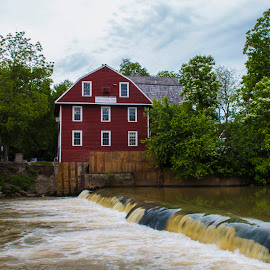 War Eagle Mill by Greg Reeves - Buildings & Architecture Public & Historical ( mill, wareaglemill, historicmill, rivers, bridges, river )