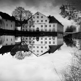 by Issam Shaheen - Black & White Landscapes