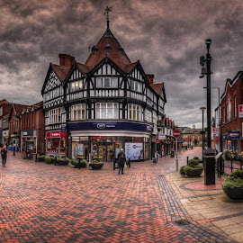 by Krasimir Lazarov - City,  Street & Park  Street Scenes ( wales, chester, street, tourism, town, architecture )