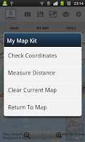 Screenshot of Appxis - Free Maps & Map Tools