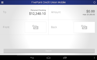 Screenshot of FivePoint Credit Union