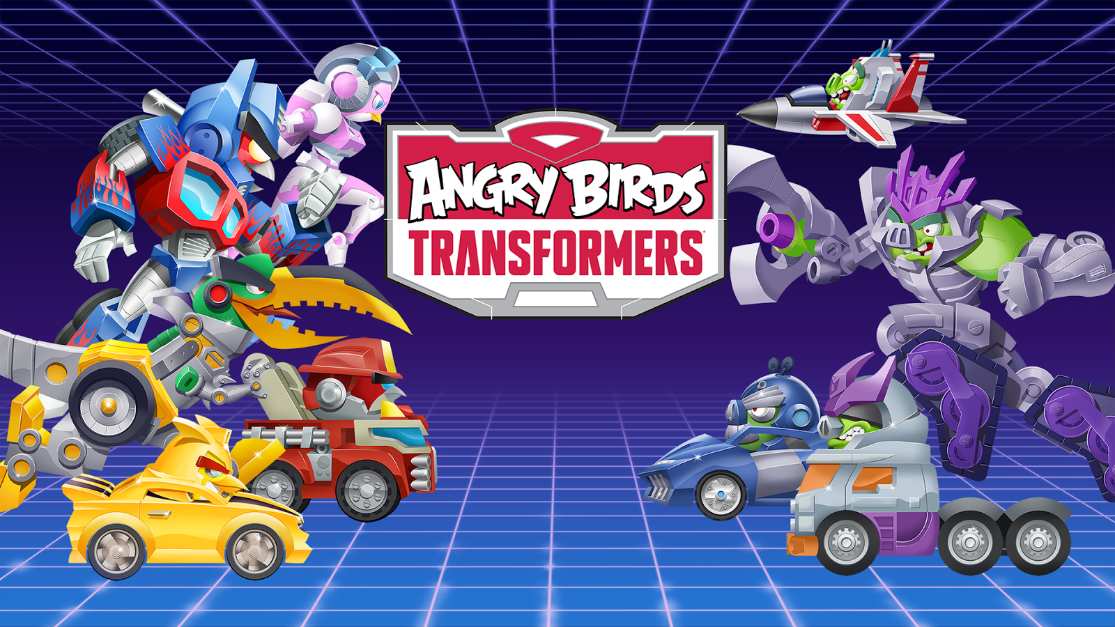 Angry Birds Transformers Screenshot 10