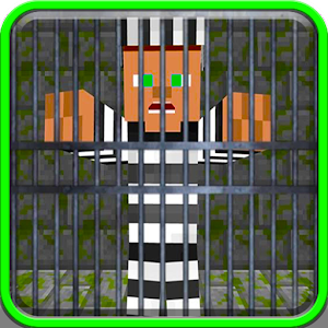 Escape from roblox prison life map for MCPE