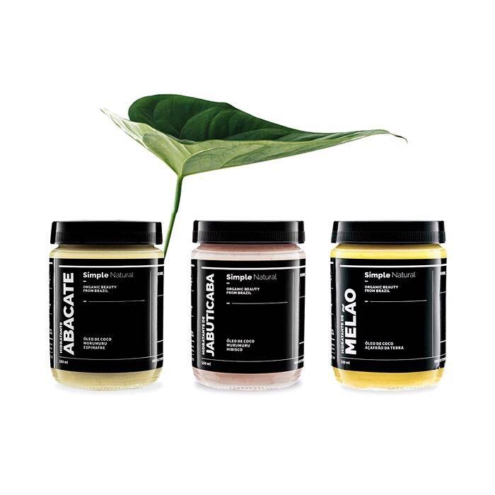 cosméticos naturais, selo eureciclo, simple organic
