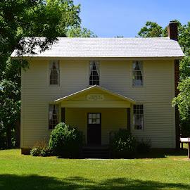 1700's Farm Homestead by Lew Davis - Buildings & Architecture Homes ( farm, home, building, houses, farms, buildings, house, homesteads, homes, homestead )