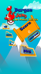 Dragon Jump on candy ball - screenshot