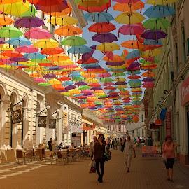 by Diomede Buda - City,  Street & Park  Street Scenes (  )