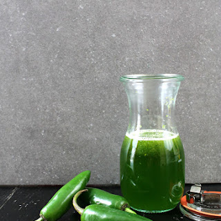 Jalapeno Simple Syrup